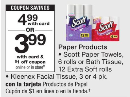 Scott tissue coupon october 2018