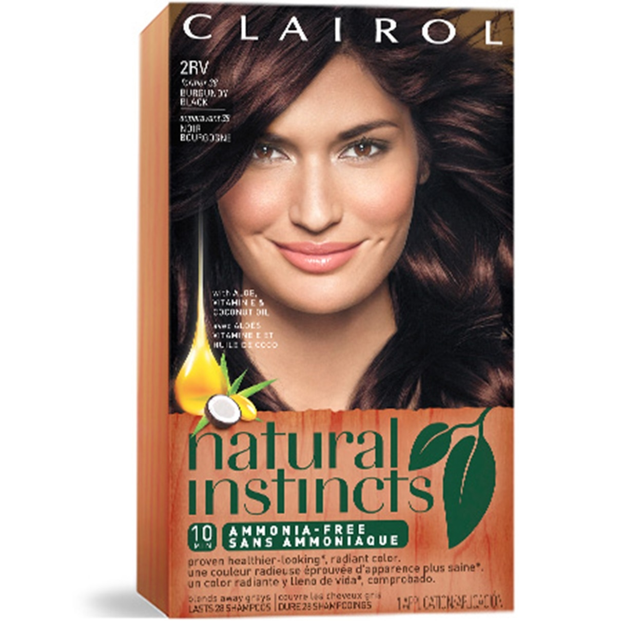 Natural Instincts Black Hair Dye