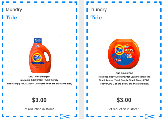 image about Ralphs Printable Coupons identify RESET $3 off Tide Printable Coupon (exp. 2/24)!!! - The