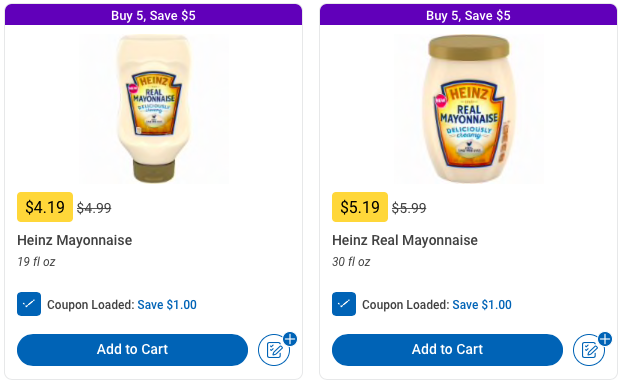 photograph about Ralphs Printable Coupons identify Ralphs: Cost-free Heinz Mayonnaise - The Accidental Saver